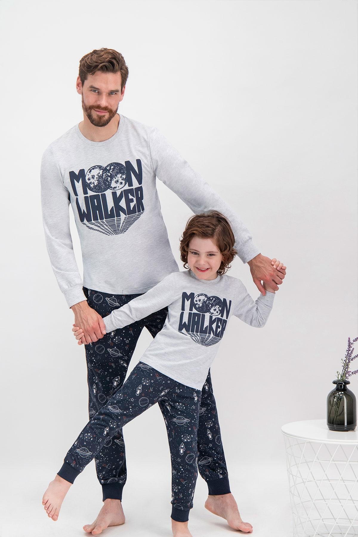 Arnetta Moon Walker Grimelanj Baba Oğul Pijama Takımı