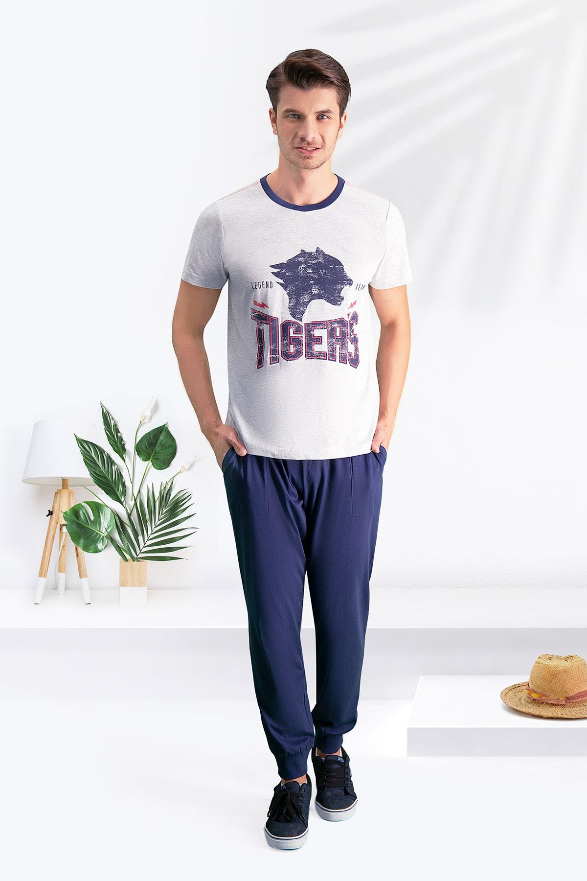 Arnetta Tiger's Karmelanj Baba Oğul Pijama Takımı (1)