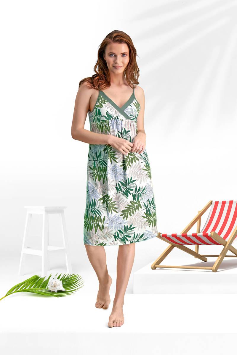 Arnetta - Arnetta Bambu Krem Kadın Gündelik Elbise