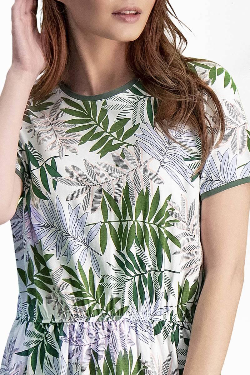 Arnetta - Arnetta Bambu Krem Kadın Gündelik Elbise (1)