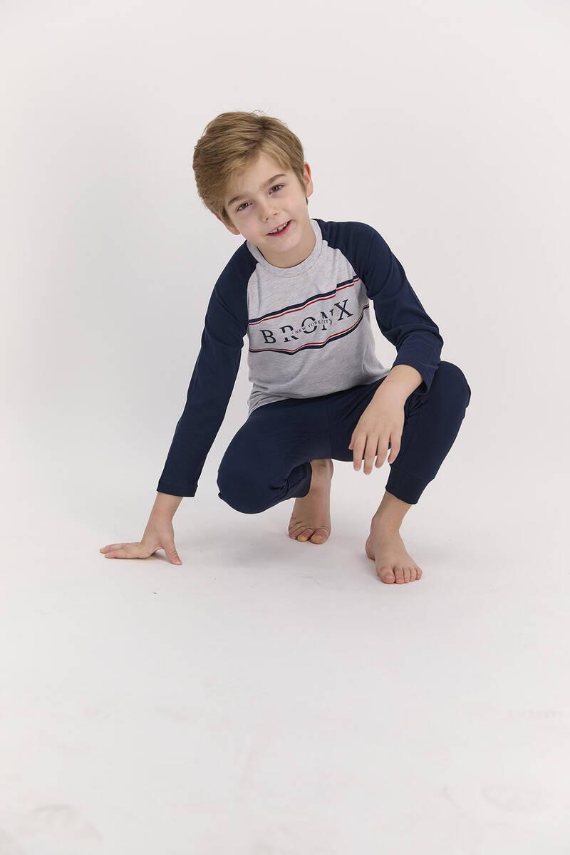 Arnetta - Arnetta Bronx Karmelanj Erkek Çocuk Pijama Takımı