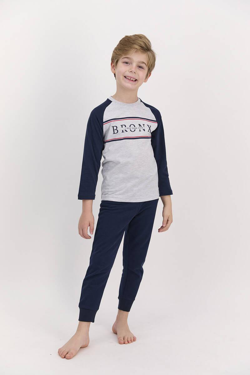 Arnetta - Arnetta Bronx Karmelanj Erkek Çocuk Pijama Takımı (1)