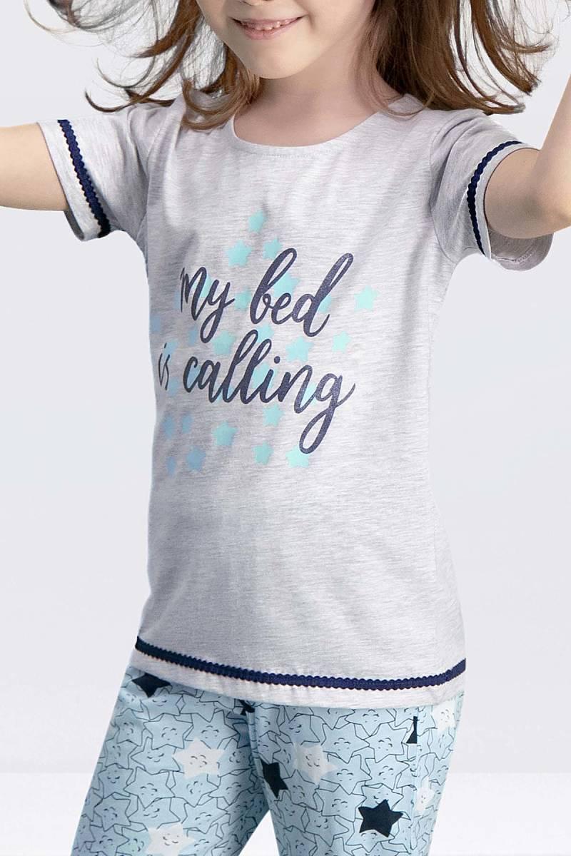 Arnetta - Arnetta My Bed Karmelanj Kız Çocuk Pijama Takımı (1)