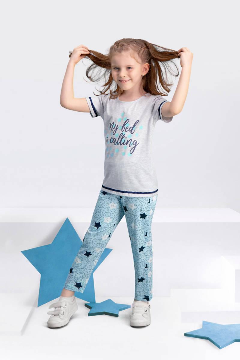 Arnetta - Arnetta My Bed Karmelanj Kız Çocuk Pijama Takımı