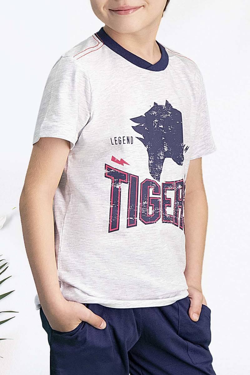 Arnetta - Arnetta Tiger's Karmelanj Erkek Çocuk Pijama Takımı (1)