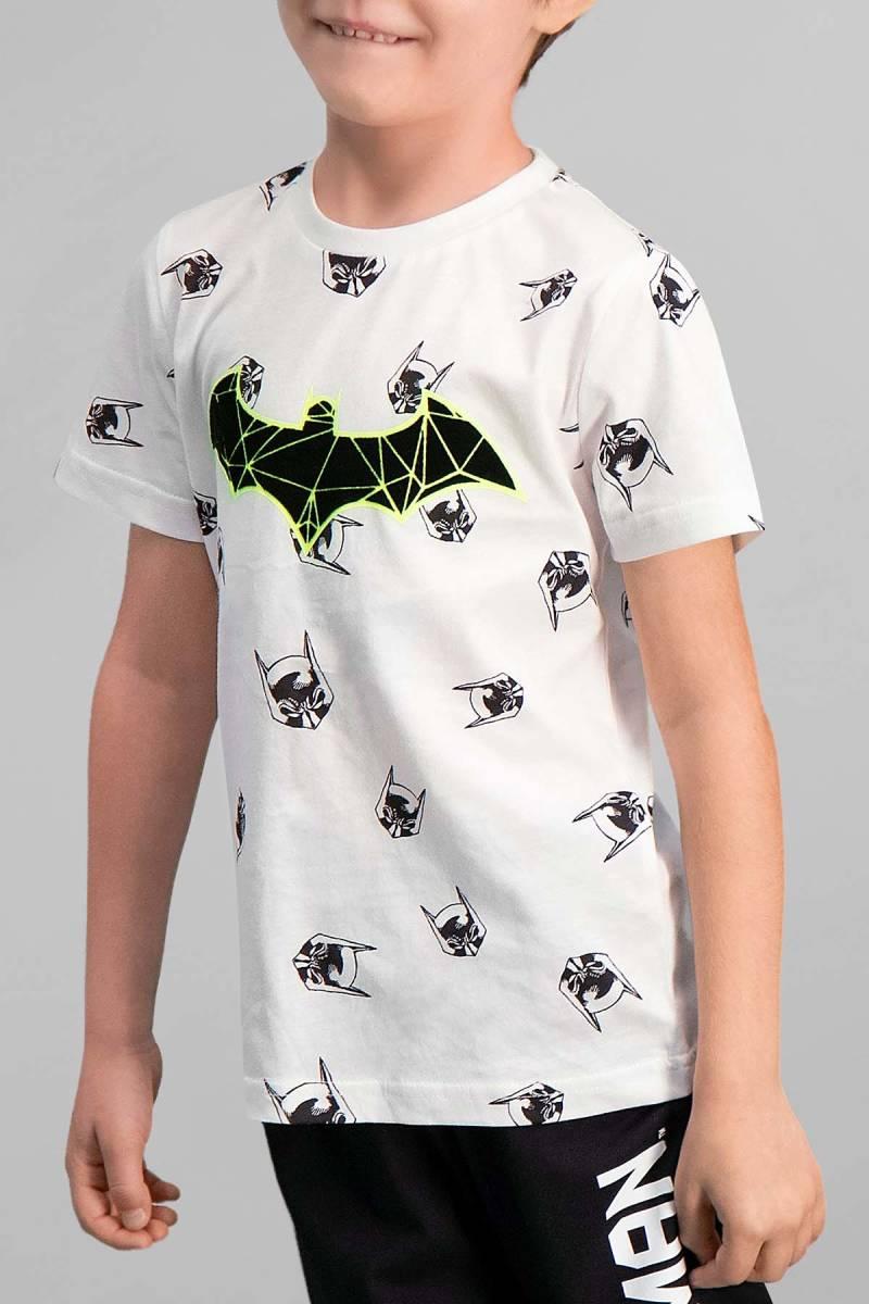 Batman - Batman Lisanslı Krem Erkek Çocuk Pijama Takımı (1)