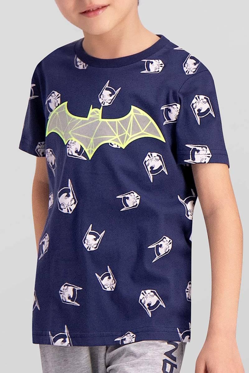 Batman - Batman Lisanslı Lacivert Erkek Çocuk Pijama Takımı (1)