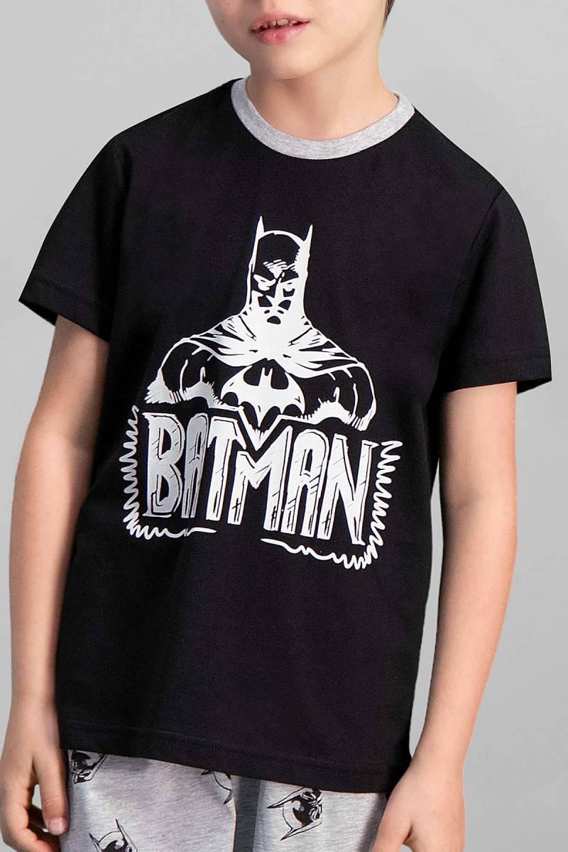 Batman - Batman Lisanslı Siyah Erkek Çocuk Kapri Takım (1)