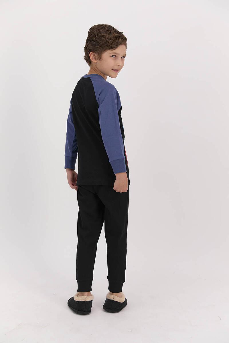 Batman - Batman Lisanslı Siyah Erkek Çocuk Pijama Takımı (1)