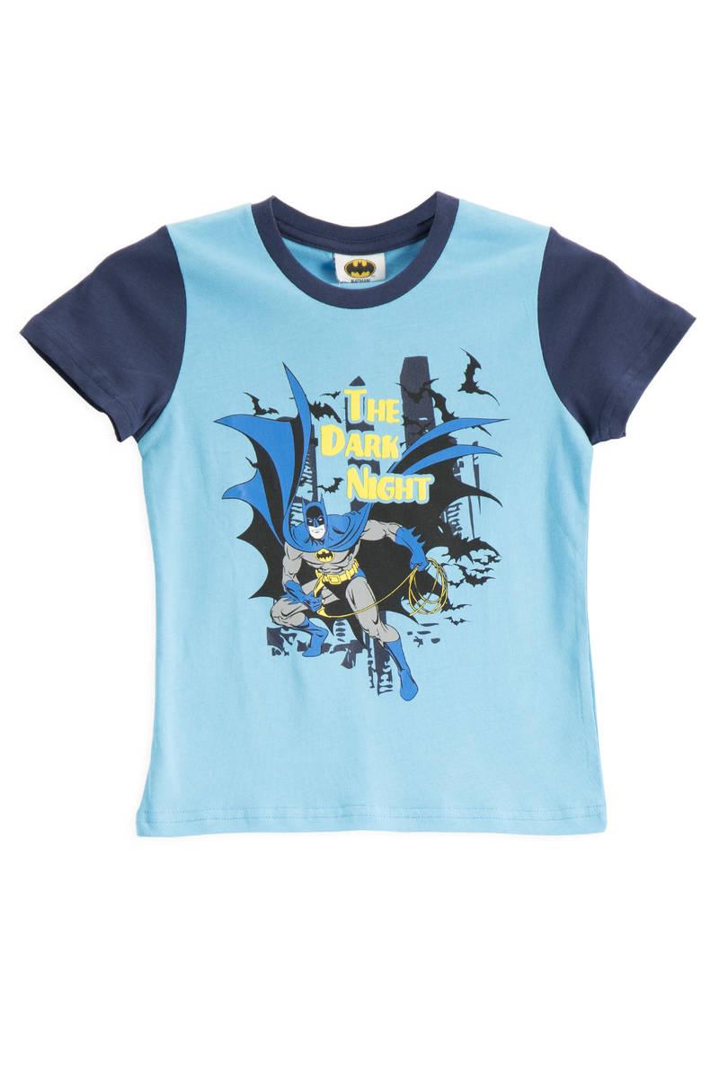 Batman - Batman Lisanslı Turkuaz Erkek Çocuk T-Shirt
