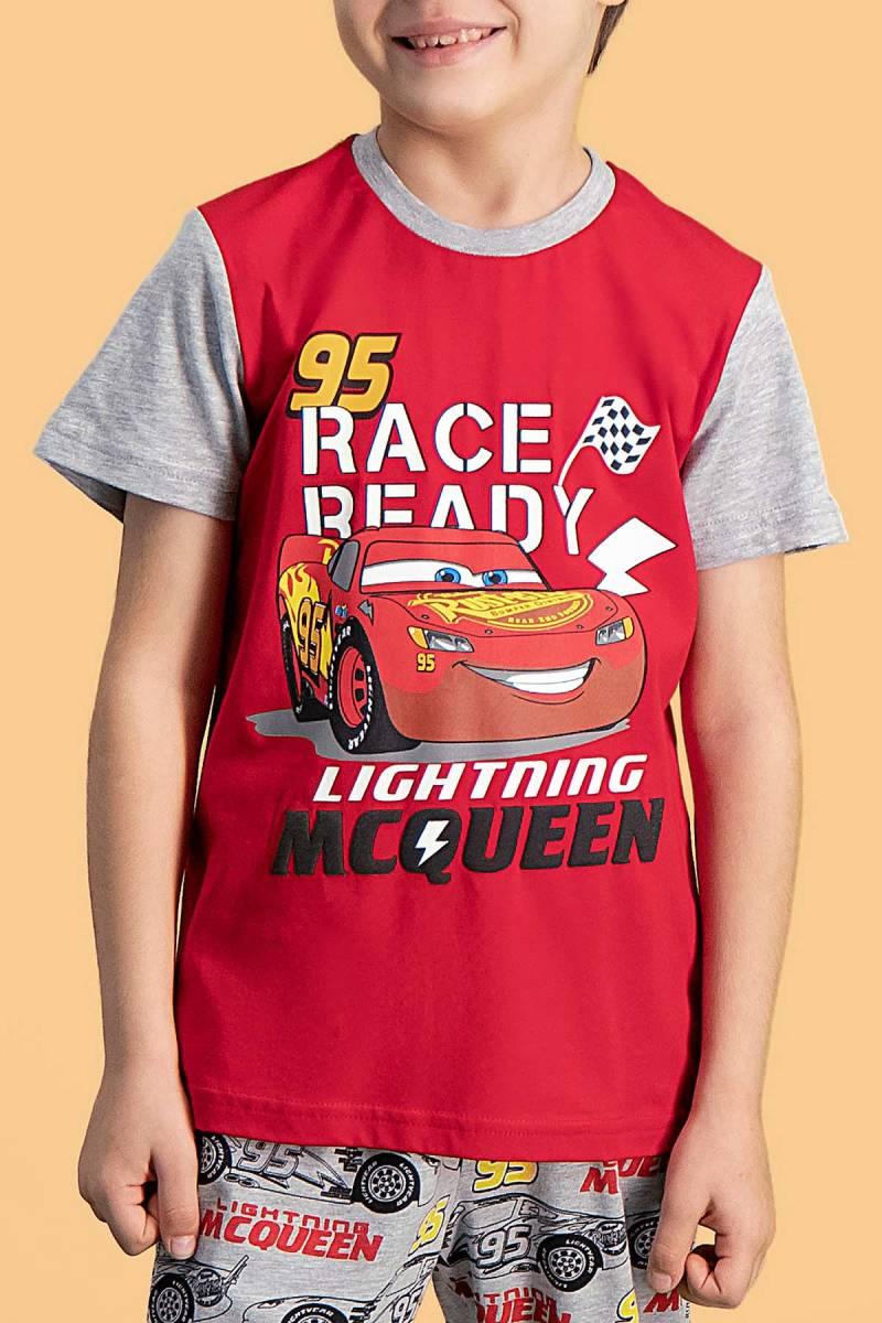 Cars - Cars Lisanslı Kırmızı Erkek Çocuk Pijama Takımı (1)