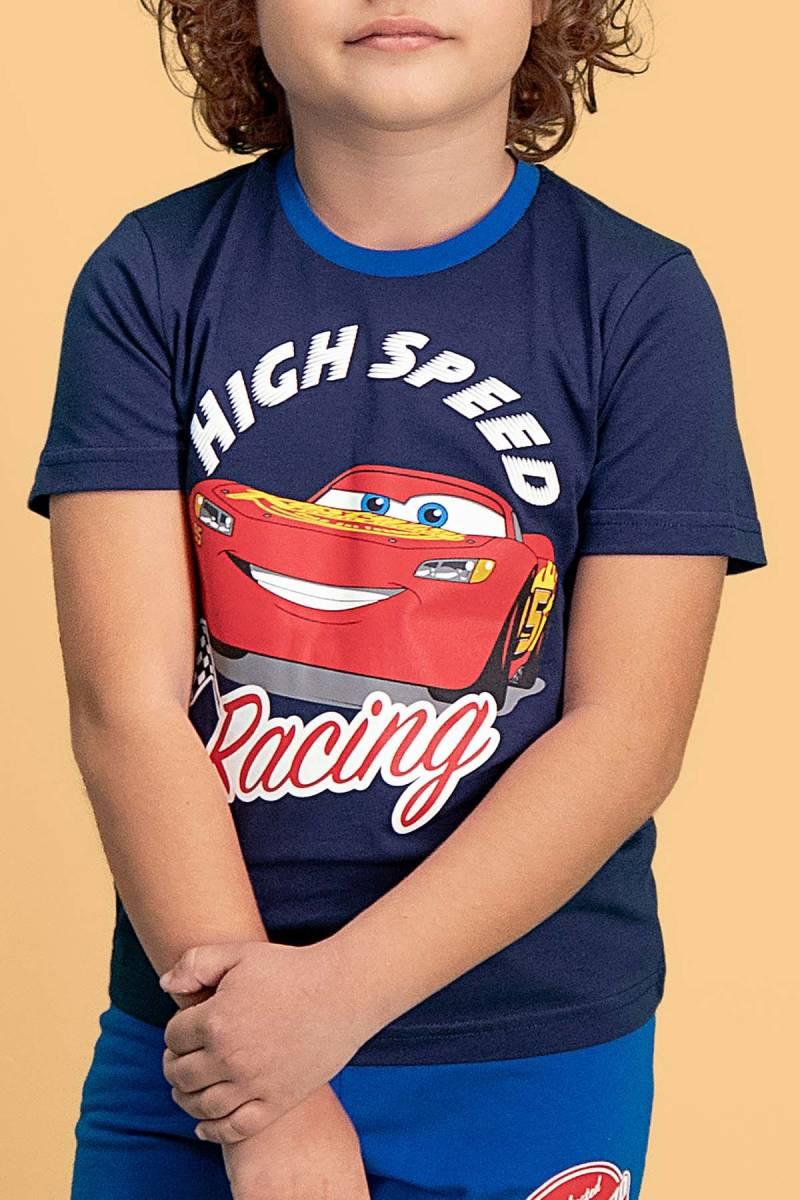 Cars - Cars Lisanslı Lacivert Erkek Çocuk Bermuda Takım (1)