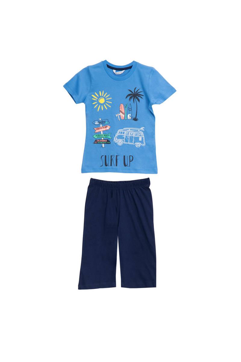 RolyPoly - RolyPoly Erkek Çocuk Kapri Takımı Mavi