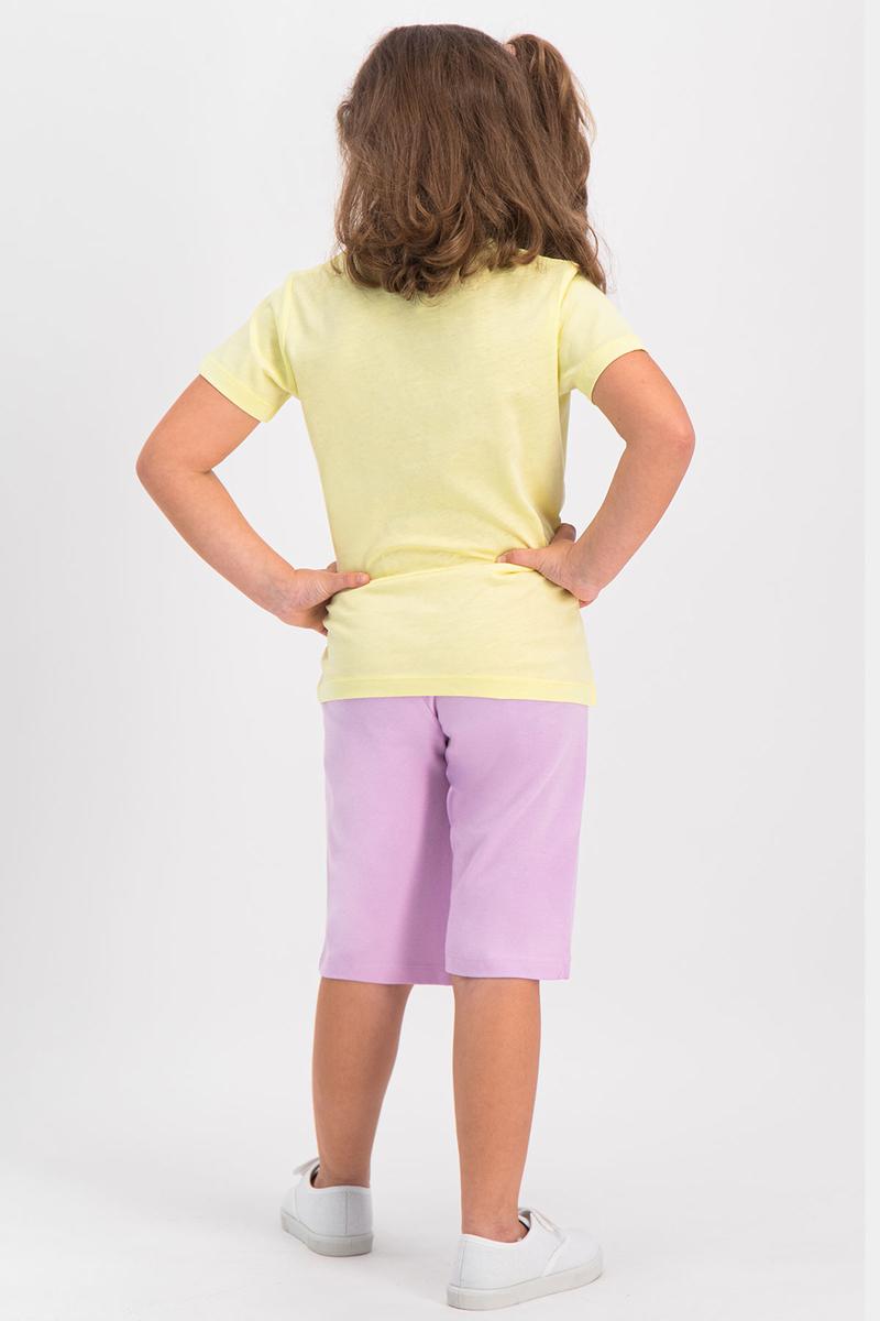 RolyPoly - RolyPoly Kız Çocuk Kapri Takım Limon Sarı (1)