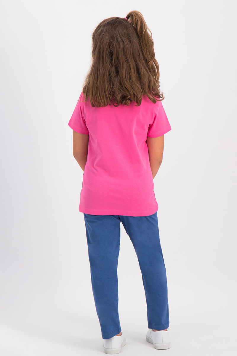 RolyPoly - RolyPoly Kız Çocuk Pijama Takımı Pamuk Şekeri (1)