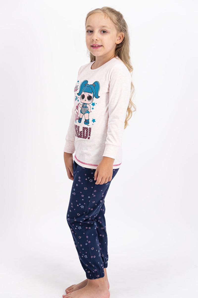 LOL - Lol Lisanslı Pembemelanj Kız Çocuk Pijama Takımı (1)
