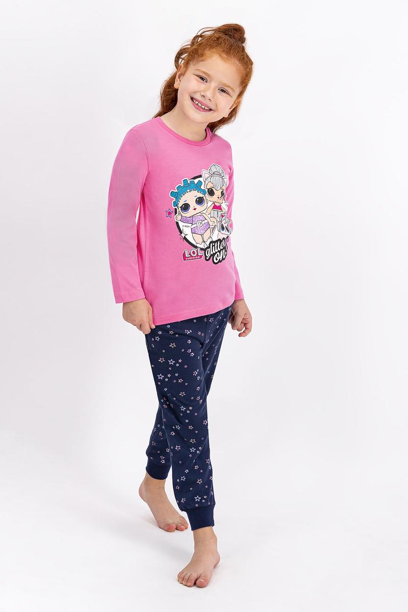 LOL - Lol Lisanslı Pembe Kız Çocuk Pijama Takımı