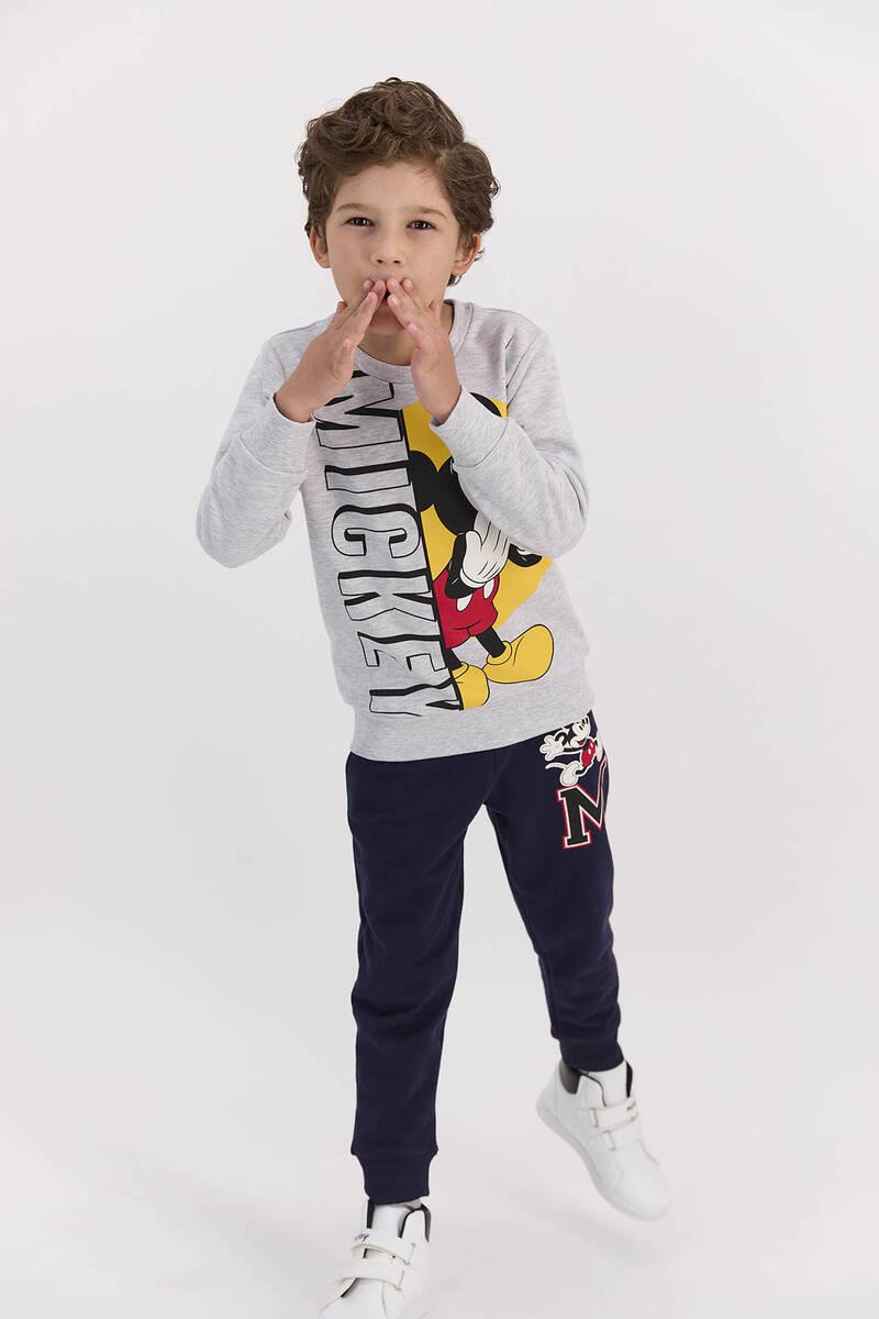 Mickey Mouse - Mickey Mouse Lisanslı Karmelanj Erkek Çocuk Eşofman Takımı