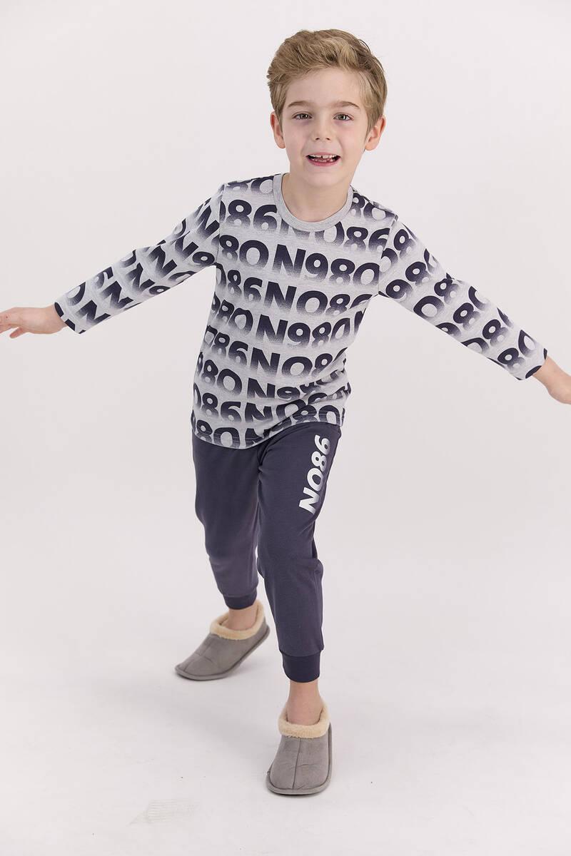 RolyPoly - RolyPoly Grimelanj Erkek Çocuk Uzun Kol Pijama Takımı (1)