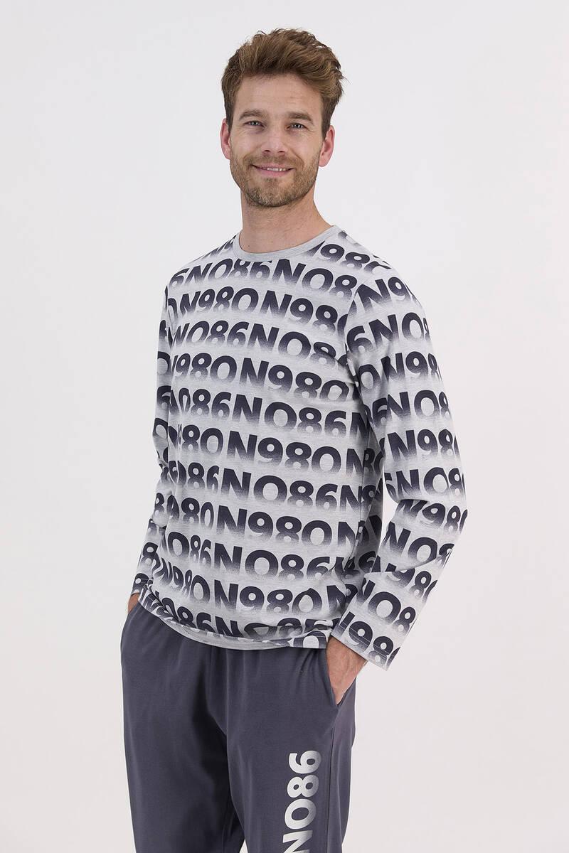 RolyPoly - RolyPoly Grimelanj Erkek Uzun Kol Pijama Takımı (1)