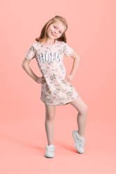 RolyPoly - RolyPoly Hola Ice Cream Krem Kız Çocuk Gecelik