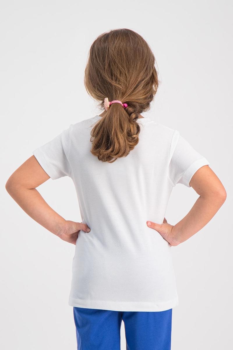 RolyPoly - RolyPoly Kız Çocuk T-Shirt Beyaz (1)