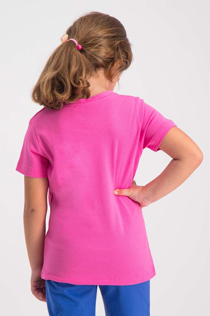 RolyPoly - RolyPoly Kız Çocuk T-Shirt Fuşya (1)