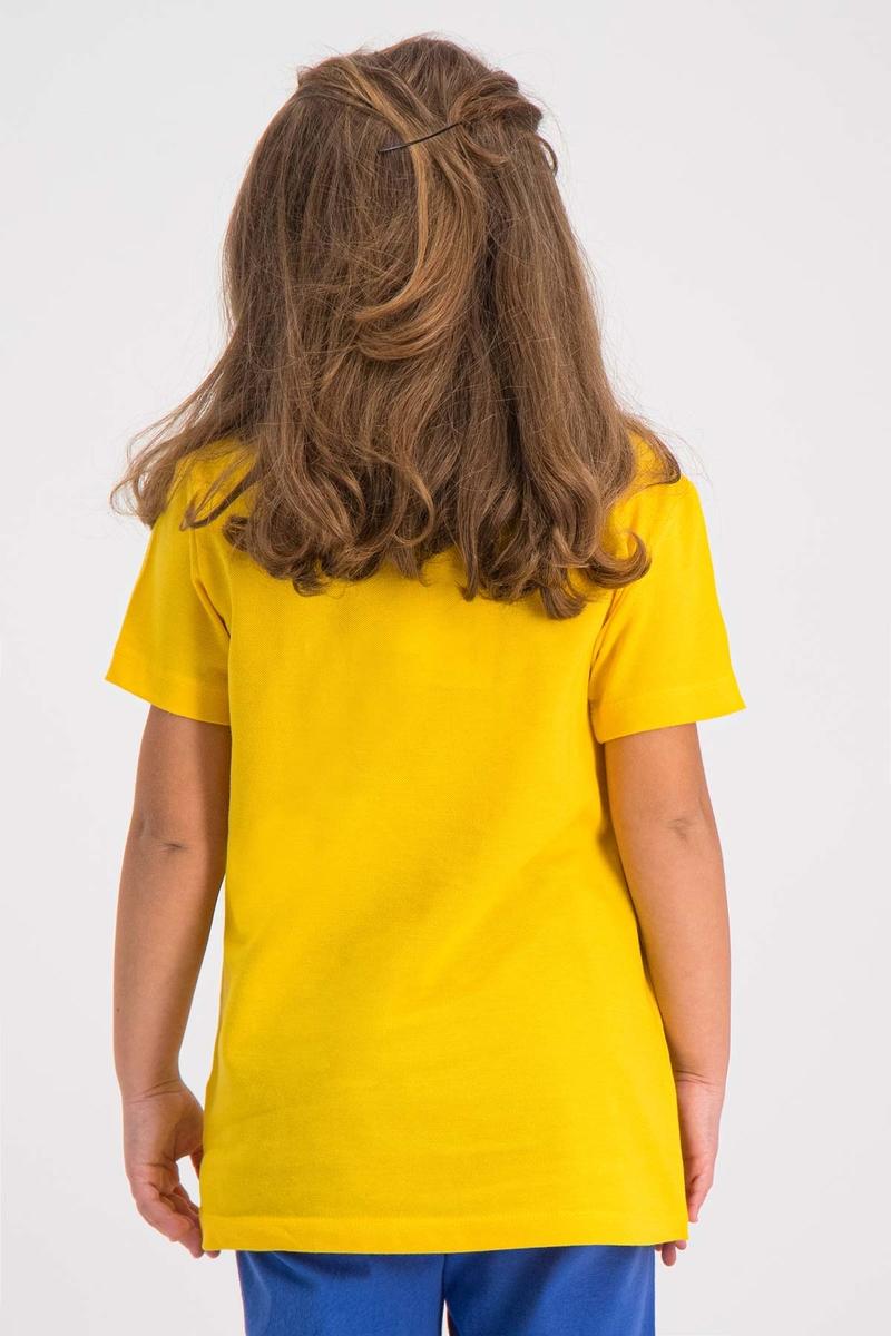RolyPoly - RolyPoly Kız Çocuk T-Shirt Sarı (1)