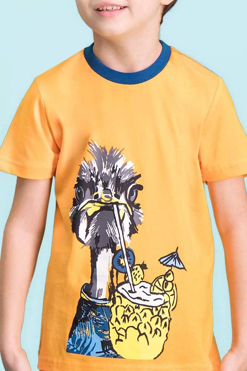 RolyPoly - RolyPoly Ostrich Oranj Erkek Çocuk Kapri Takım (1)
