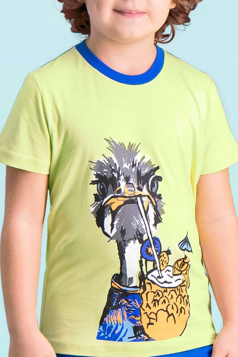 RolyPoly - RolyPoly Ostrich Yeşil Erkek Çocuk Kapri Takım (1)