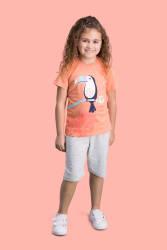 RolyPoly - RolyPoly Parrot Yavruağzı Kız Çocuk Bermuda Takım