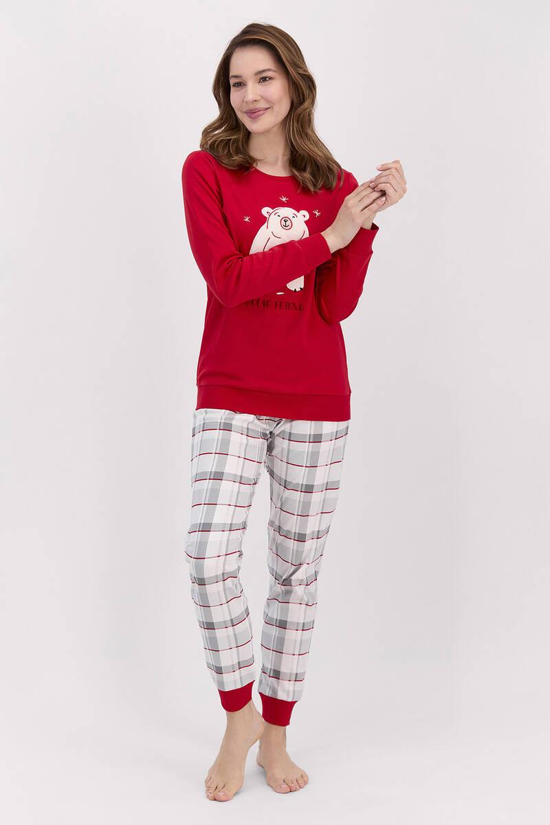 RolyPoly - RolyPoly Polar Friend Kadın Kız Çocuk Pijama Takımı