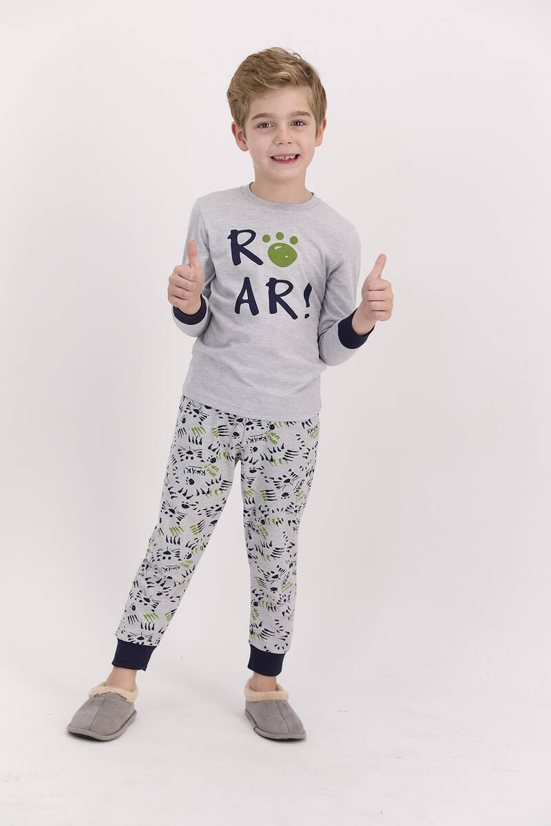 RolyPoly - RolyPoly Roar Grimelanj Erkek Çocuk Pijama Takımı