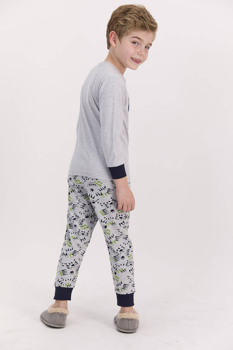 RolyPoly - RolyPoly Roar Grimelanj Erkek Çocuk Pijama Takımı (1)