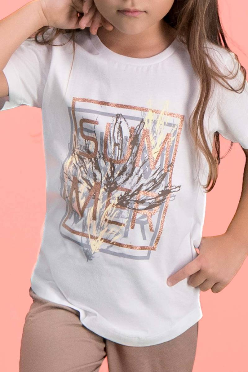RolyPoly - RolyPoly Sum Mer Krem Kız Çocuk Pijama Takımı (1)
