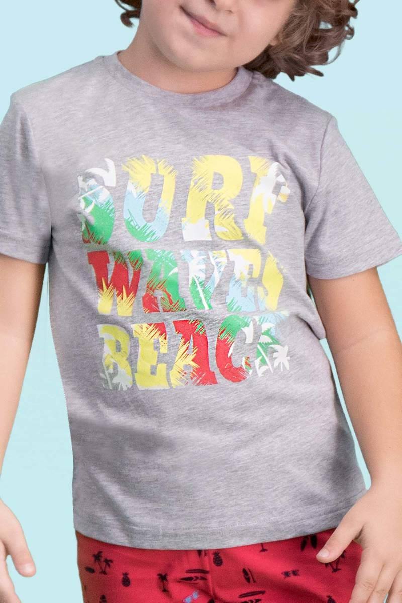 RolyPoly - RolyPoly Surf Beach Grimelanj Erkek Çocuk Bermuda Takım (1)