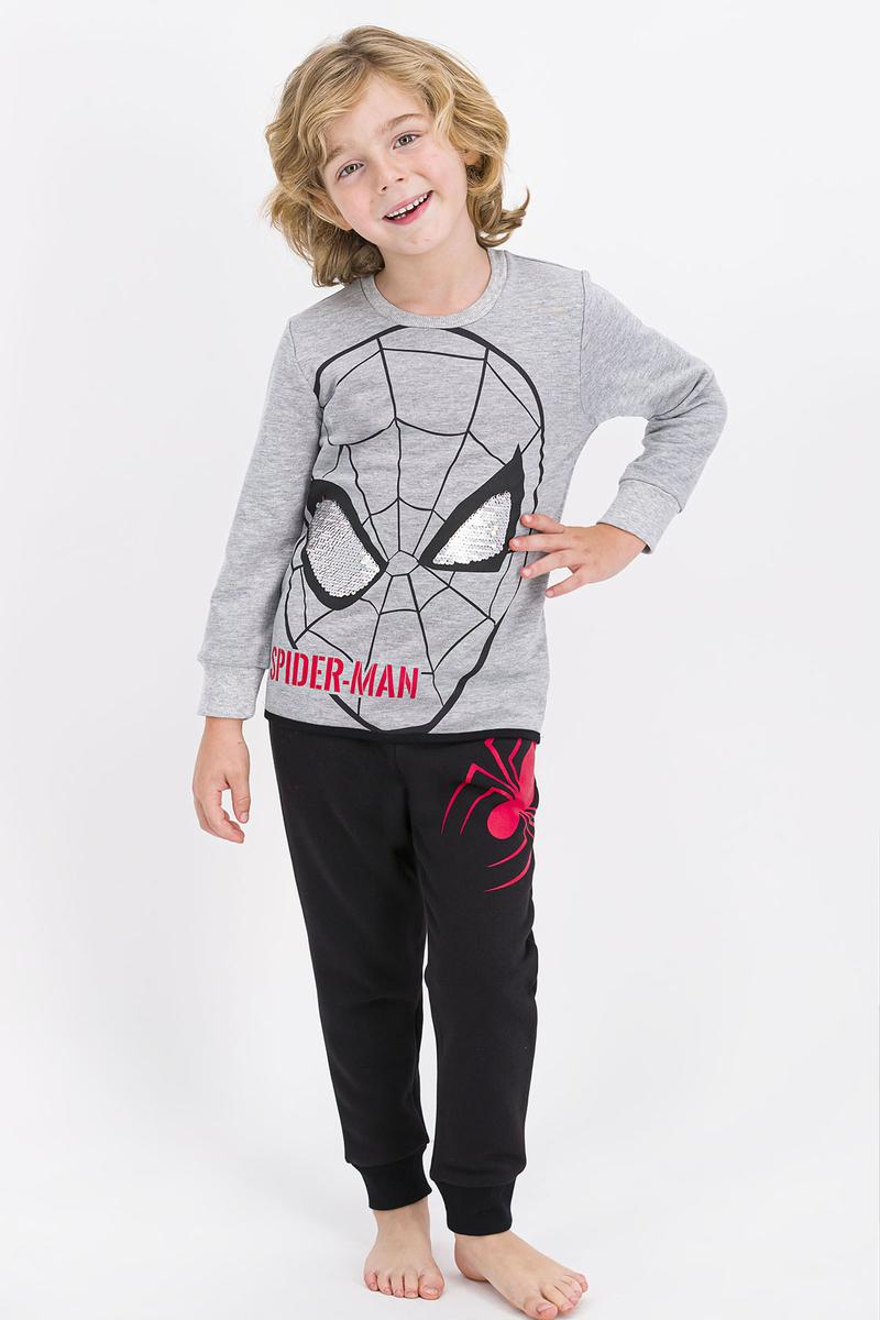 Spider Man - Spider Man Lisanslı Grimelanj Erkek Çocuk Eşofman Takımı