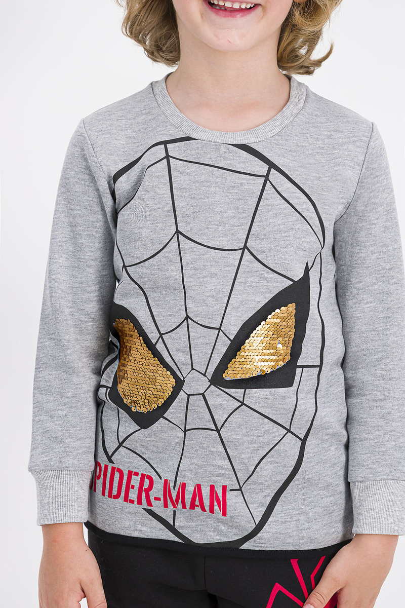 Spider Man - Spider Man Lisanslı Grimelanj Erkek Çocuk Eşofman Takımı (1)