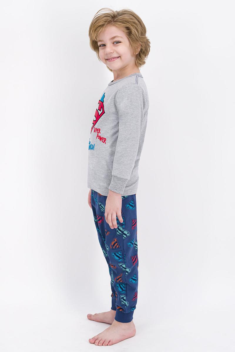 Superman - Superman Lisanslı Grimelanj Erkek Çocuk Pijama Takımı (1)