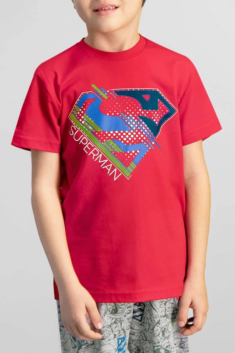 Superman - Superman Lisanslı Kırmızı Erkek Çocuk Pijama Takımı (1)