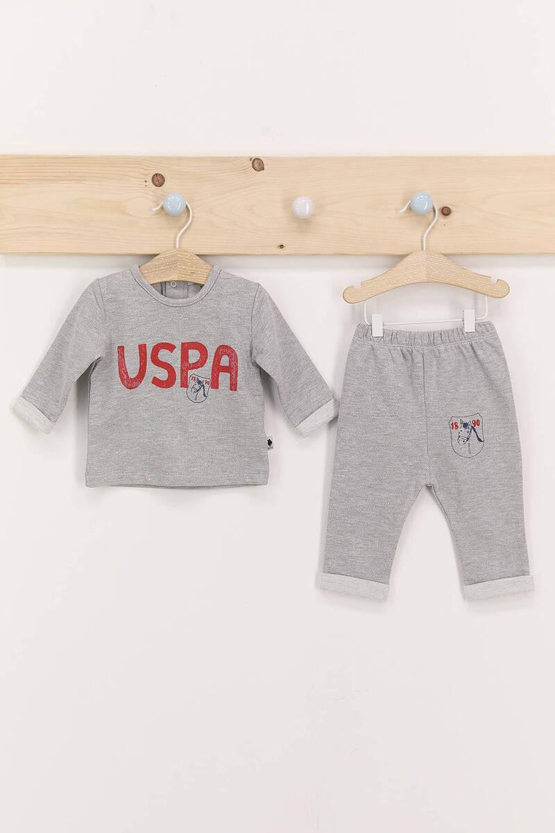 U.S. Polo Assn - U.S. Polo Assn Grimelanj Erkek Bebek Takımı