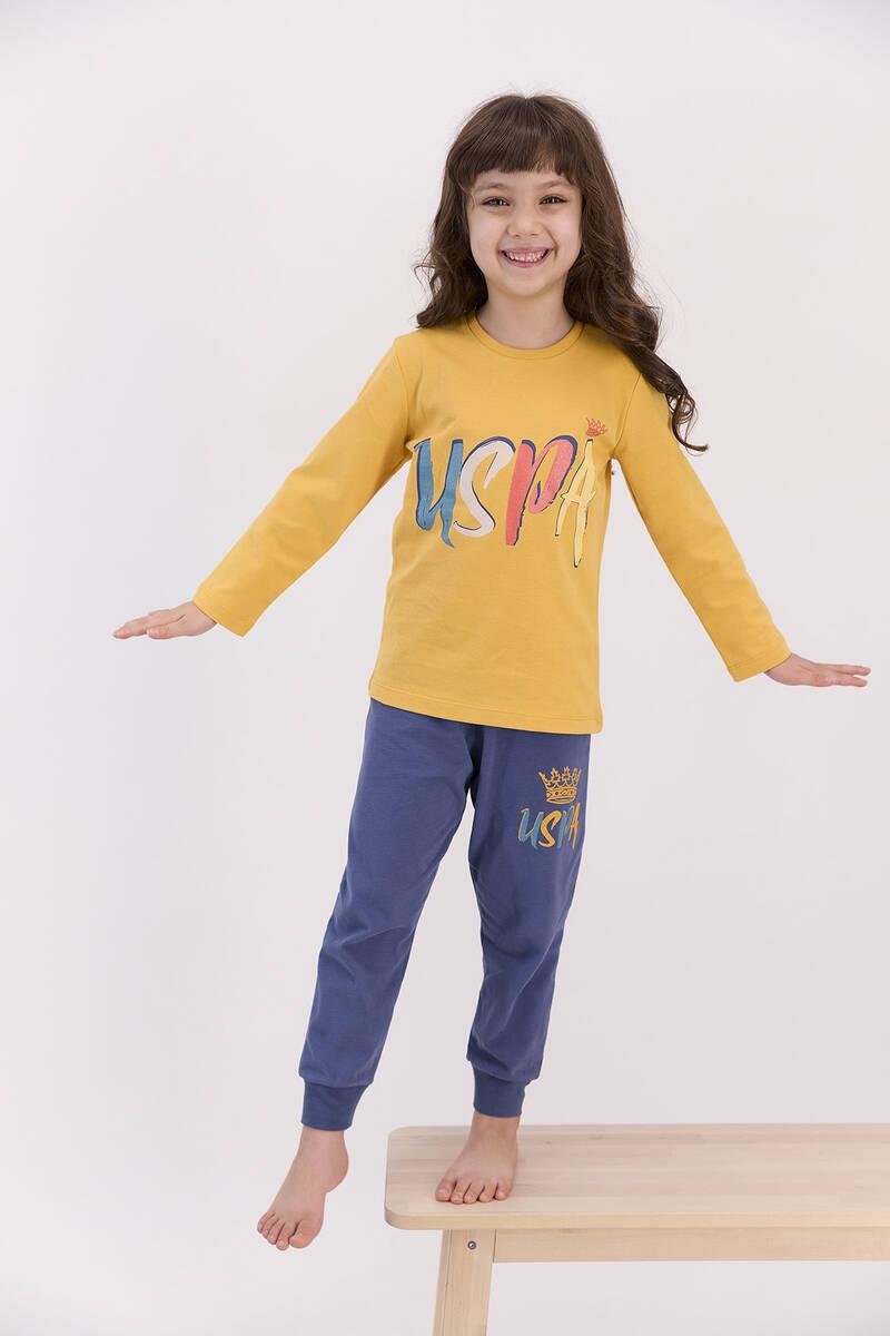 U.S. Polo Assn - U.S. Polo Assn Hardal Kız Çocuk Eşofman Takımı